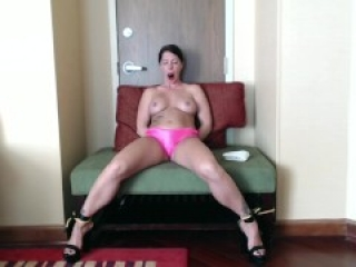 Hot! Wifey gets bound and spread, gagged and made to have multiple orgasms.