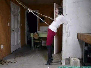Futile Struggles - Rachel Crotchroped And Post Tied