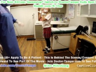 $CLOV Glove & Scrub In As Doctor Tampa When Your New Sex Slave Ava Siren Arrives From WaynotFair!
