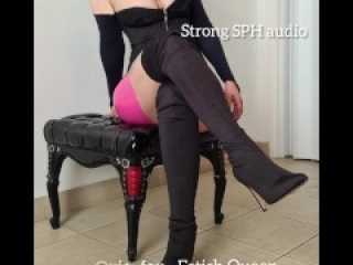 Strong SPH co worker fantasy. Audio. Sexy Latina accent. Hard humiliation