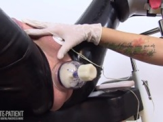 MEDICAL TORTURE WITH RUBBER NURSE