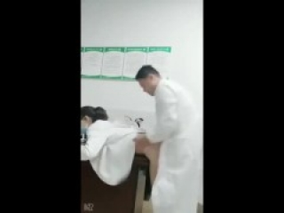 erotic Doctor and medical intern Having sex