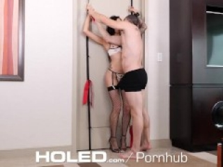 HOLED GAPING Anal Bondage - CUM DRIPPING