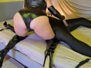 Tied Up Slave Gets Facesitted, Whipped, Fucked And Ruined By Cruel Femdom Mistress