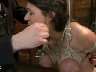 Charley chase breast bound suspended n cummed