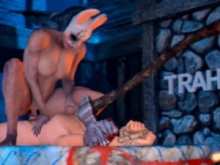 Huntress Risky Sex HD