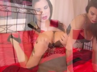 Stunner Jasmine Jae blindfolded, tied and begs to cum over and over
