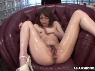 Rina Serizawa can't have enough of kinky group action