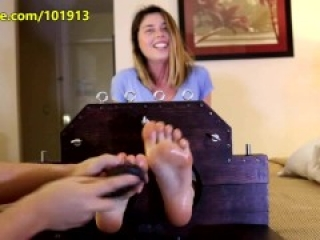 RSE- Elle's First Tickle Torture Full Body Tickling Torture