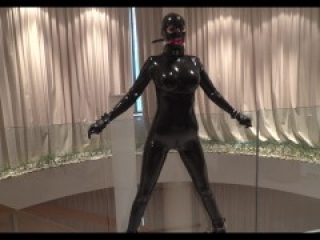 Ready to next rubber play and enjoy my new latex catsuit 3