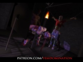 Partial scene from FemDomination2 (VR+2D)
