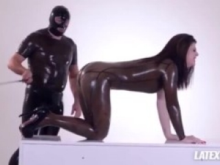 Latex Lucy Fists Submissive