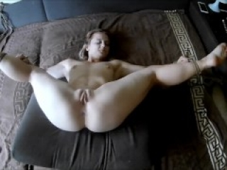 Tied up fuck with horny girl