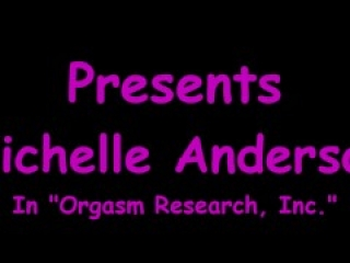 Michelle Anderson Signs Up For Orgasm Research But Her Ex Boyfriend Is Now Assisting Doctor Tampa!