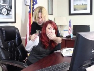 Kendra James: US Senator tied and gagged in her office