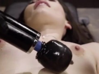 Tied Up Slut Gets Her Pussy Vibrated To Real Orgasm (Contractions at)