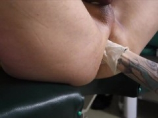 nurse mistress double fisting, sounding, needle cbt, huge strapon