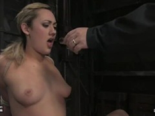 Gwen anal hooked tied and suspended, whipped and orgasmed