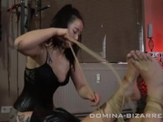 Asian Mistress shibari bondage slave