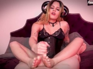 Drained By Succubus Soles - Miss Roper