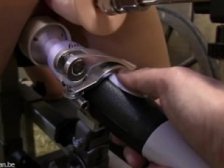 Girl Bound Milked And Fucked By A Machine