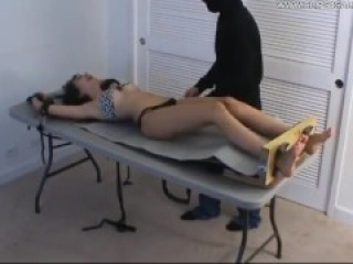 Leilani Tickled on Her Upperbody - (partial clip) - FREEBIE