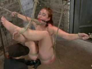 Rope Suspension And Orgasms - HT