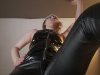 Pov Part 2 I will humiliate you and spit in your face. Lick my feet slave.