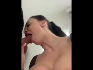 Autumn falls anal and squirt