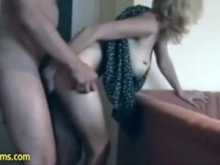 Amazing Christine first time used Date Cums to fuck and she loved it