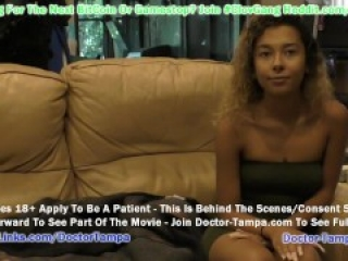 $Clov - Kalani Luana Undergoes Yearly Physical At Doctor Tampa's Gloved Hands @ GirlsGoneGynoCom!