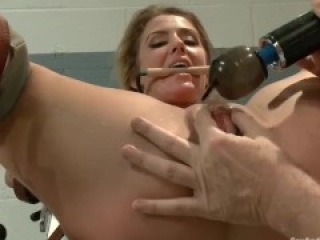 Doctor Tests Restrained Female Patients Holes