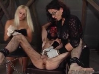 Mistresses nipple torments cbt and strapon
