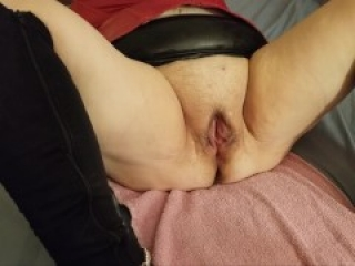She gets her cunt stretched with a speculum while she moans like a bitch