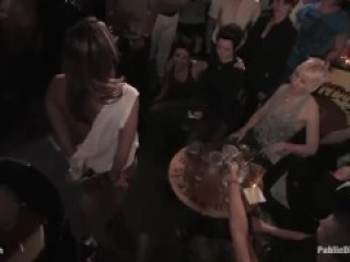 All Girl Public Disgrace- Ariel X humiliated and used in a queer bar