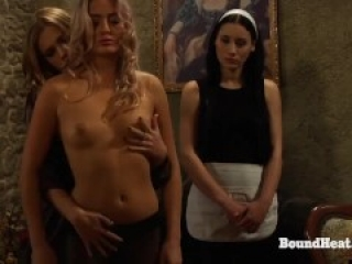 The Submission of Sophie: Young Lesbian Slave Unwraps Big Mistresses's Gift