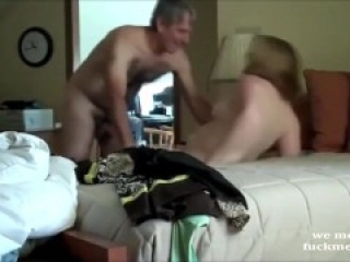 Chubby Mommy lovely fuck on our date