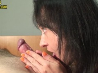 Maya edging his cock and squeezing and sucking his balls ruined orgasm