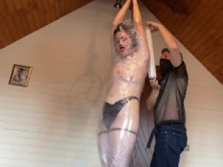 Mummification for the first time! Very scary! Breathing game! TRAILER
