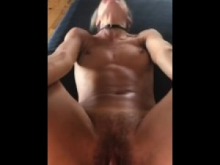 I Am A Sex Toy Bound and Ass Fucked On The Dining Room Table