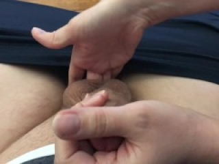Wife tells cuckold about other guys, gives ruined orgasm sph