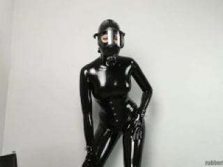 Latex couple gas masks virus protection #1 trailer