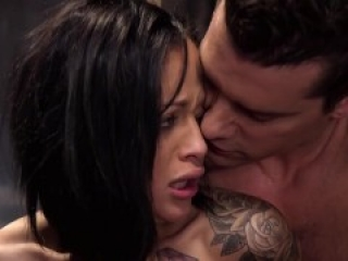 Filthy Talker Ass-Fucked In Strict Bondage