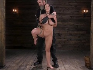 Angela White Explores Bondage, and Pleasure