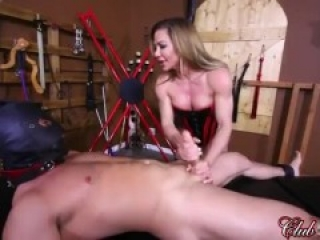Femdom - Slave Cum inside Mistress - Accident