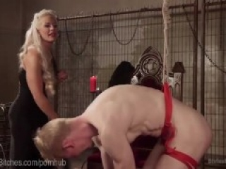 Blonde Goddess Dominatrix Holly Heart