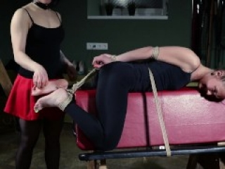 New ticklish slave [RussianGirlsInDistress]