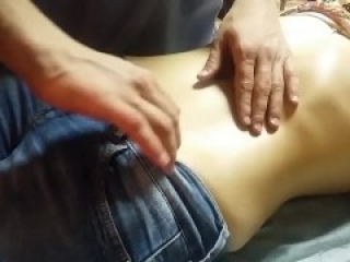 AmateurAmassage - Milf Has Nice Belly Button
