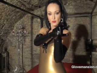 Milked By My Long Latex Gloves