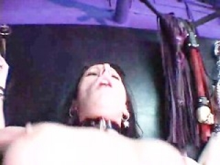 Latex Slut Fucked In Butt